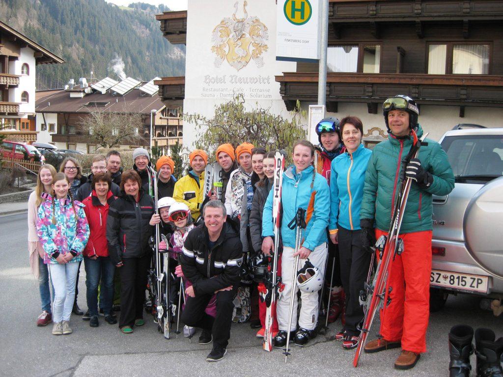 Gruppenfoto der Freizeitteilnehmer